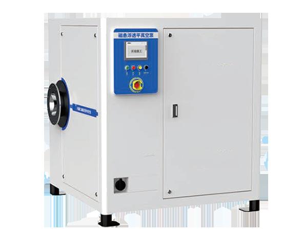 Magnetic suspension turbine vacuum pump