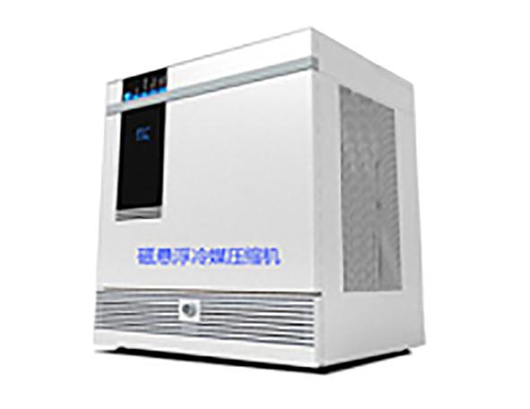 Magnetic levitation refrigerant compressor